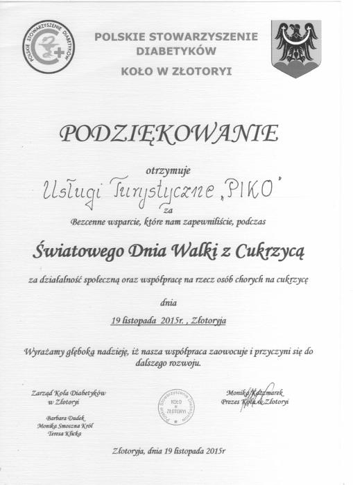 Polskie Stowarzyszenie Diabetyków Koło w Złotoryi