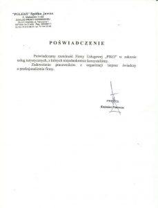 POLERS spółka jawna z Chojnowa