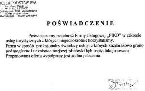 Szkoła Podstawowa im. Jana Pawła II w Pielgrzymce