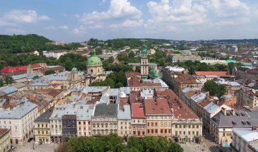 Lwów - panorama miasta