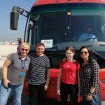 Dubai – My i Nasza przewodniczka Justyna