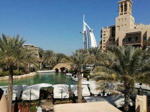 Dubai – ogrody pałacu