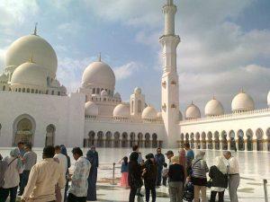 Abu Dhabi- Meczet Szejka Zajida