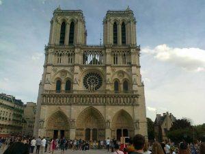 Paryż – Katedra Notr Dame – przed pożarem