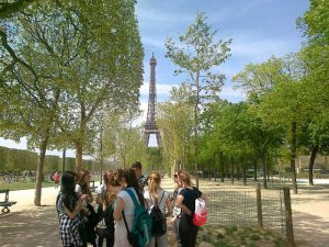 Paryż – wieża Eiffla