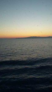 Rodos – Zachód słońca