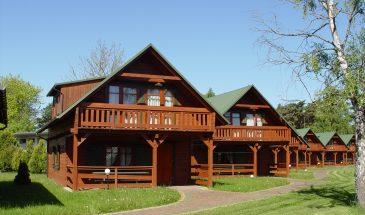 Drewniane domki - Pustkowo